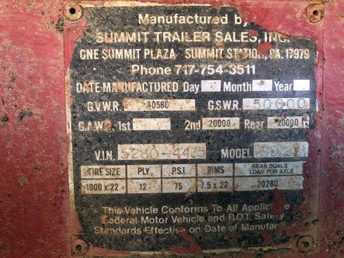 1980 SUMMIT SD22