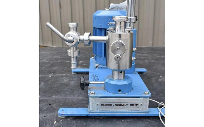 USED IKA SUPER DISPAX HOMOGENIZER, 2 HP