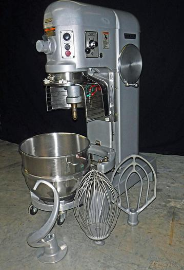 Used USED HOBART® 60-QUART MIXER WITH BOWL GUARD, MODEL H600T, IN EXCELLENT CONDITION