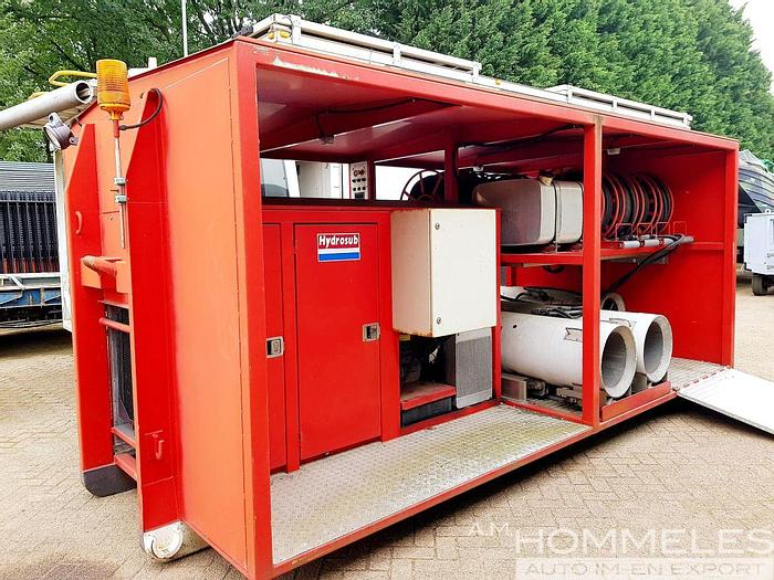 Used Hydrosub positive pressure ventilation system