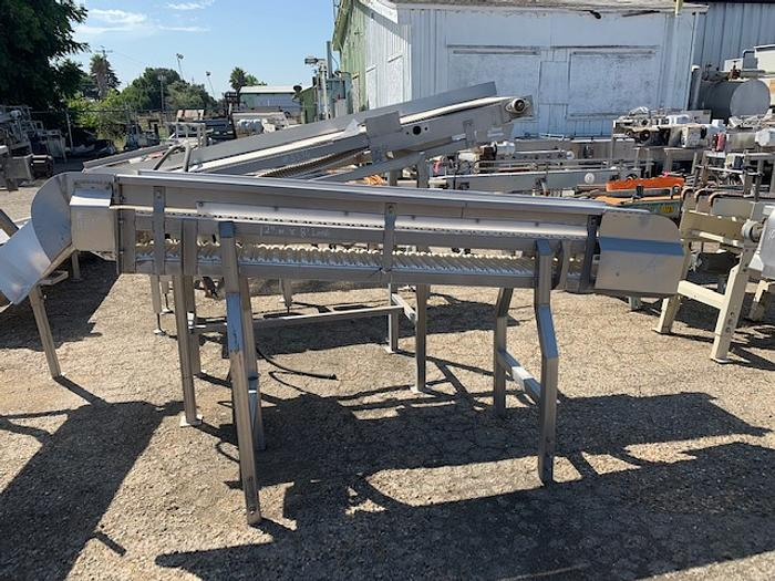 Inclined Intralox Belt Conveyor