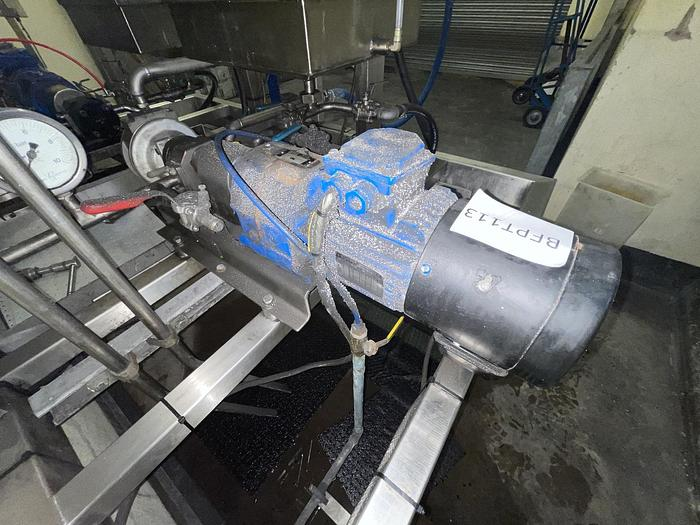 Used LEROY SOMA LSMV80L Pump
