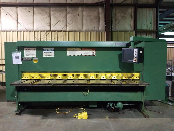 "1991 Cincinnati 2500 Hydraulic Power Shear | 1/4"" x 120"",  PC800 Control"