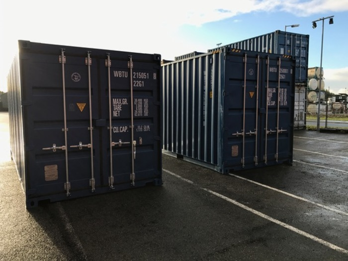"20 'Container 9'6 ""Wooden floor"