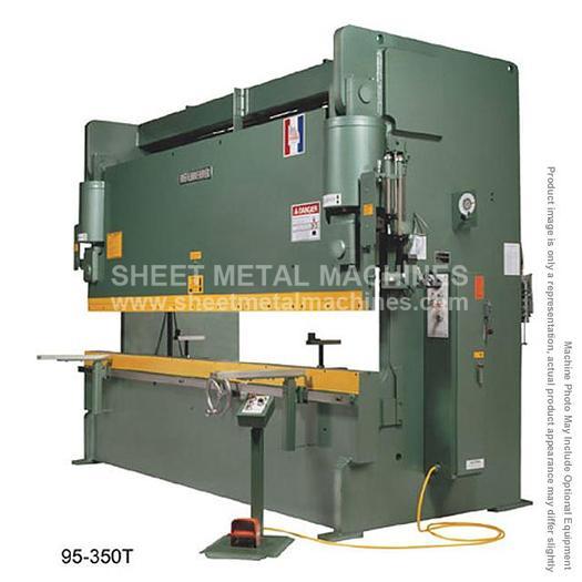 BETENBENDER 10' x 120 Ton Hydraulic Press Brake Model 10-120