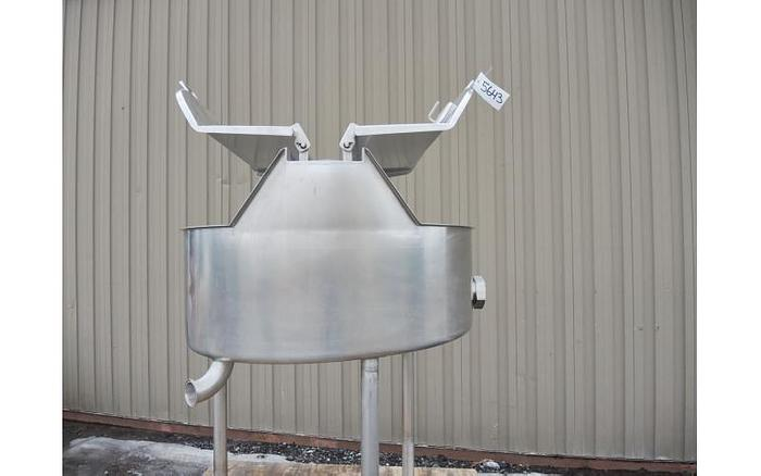USED 26 GALLON TANK, STAINLESS STEEL