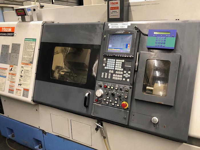 2001 CNC Dreh- und Fräszentrum MAZAK INTEGREX 200 Y