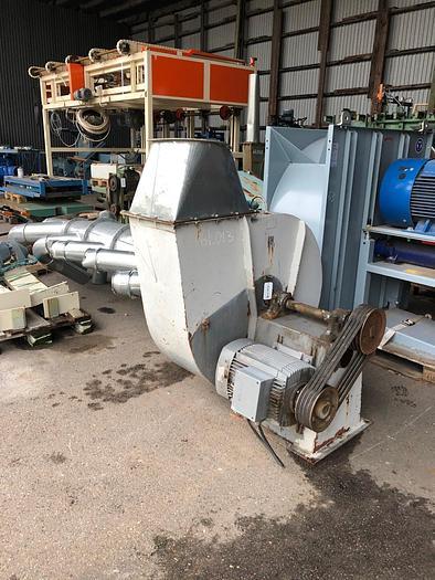 Used 11 kW, Industrial suction fan