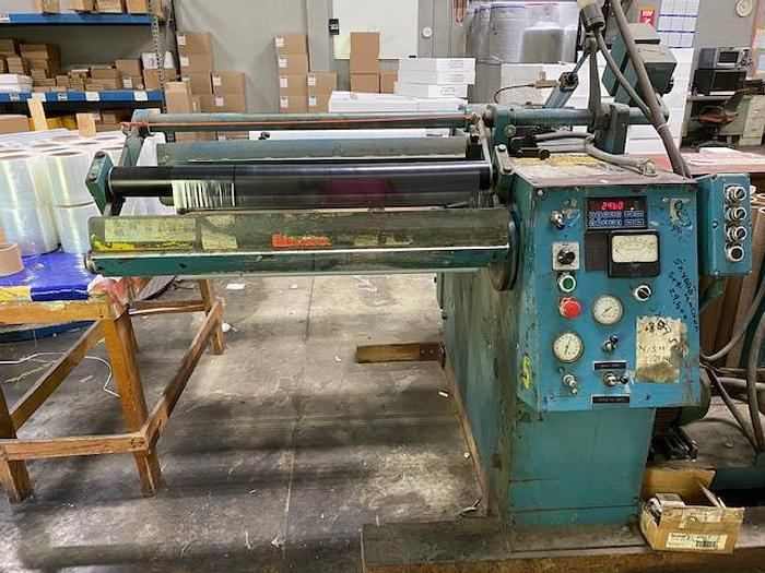 """Used 30"""" WIDE STANFORD 142 LT DOCTOR REWINDER 13"""" DIAMETER WITH SLITTING"""