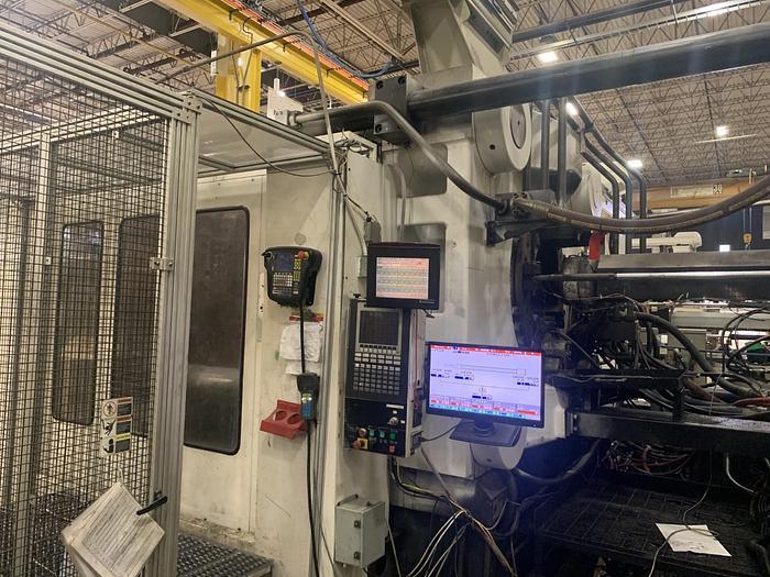 2002 Cincinnati Milacron 1760 ton Injection Molding Machine, 110oz, 2002 ML1760-362