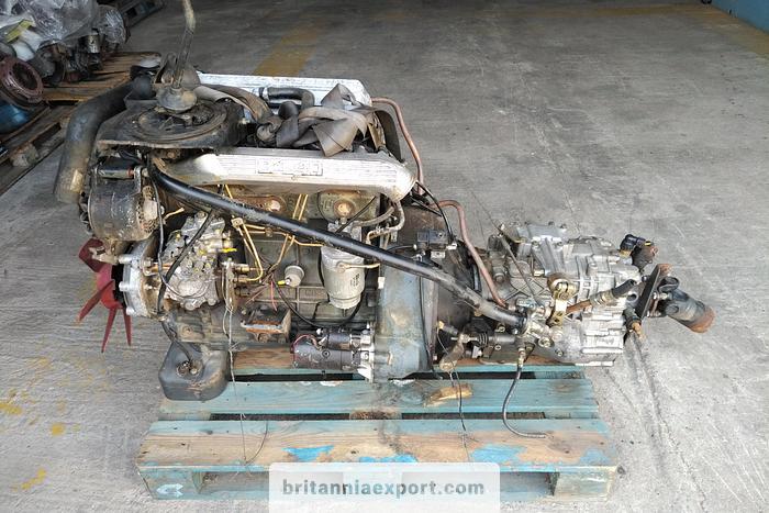 Used 2000 NISSAN B4.40 4 cylinder engine
