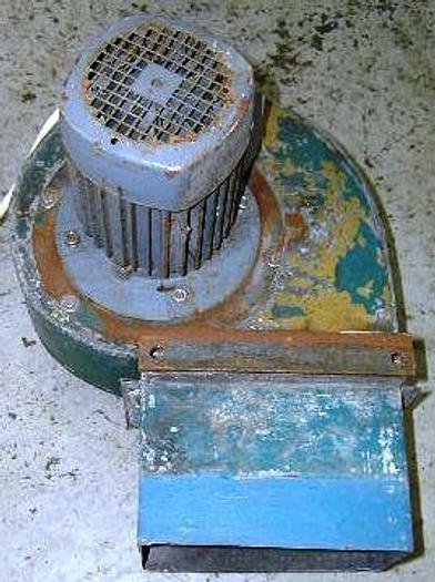 Used Ventilator with VEM motor 1,1 kW, 50 Hz, 230 V/400V, 2810 – 2855 rpm.