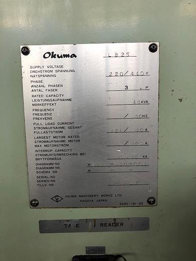 1990 OKUMA LB25