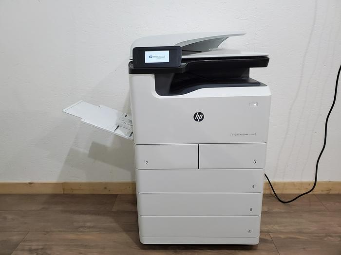 Used HP PageWide P77740 Full Color Inkjet Printer. Only 182K Meter!