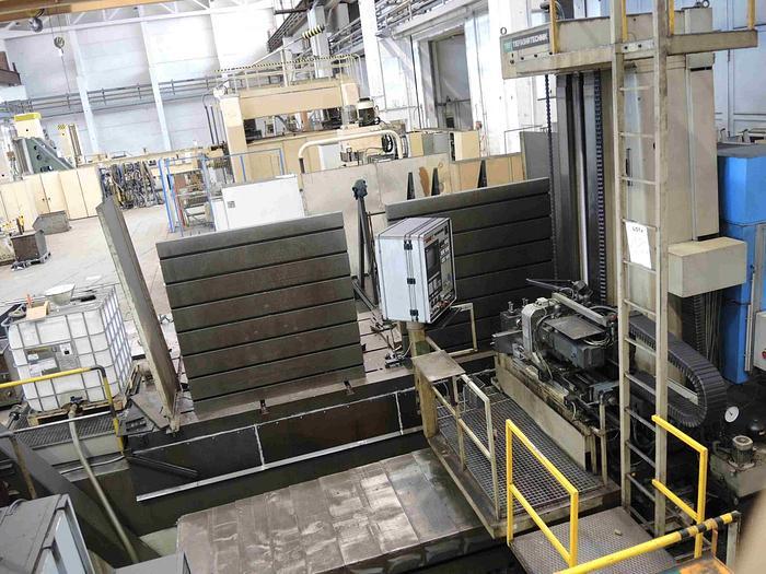 Usata FORATRICE PER FORI PROFONDI A MONTANTE MOBILE TBT TE 30-500 CNC