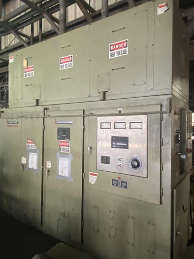 Used INDUCTOTHERM VIP POWER TRAK 1250-CR INDUCTION MELTING FURNACE( On Hold)
