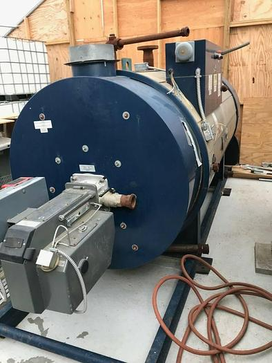 2002 PVI TURBOPOWER 40HP NAT GAS STEAM BOILER 40 SBHE 500A-TP