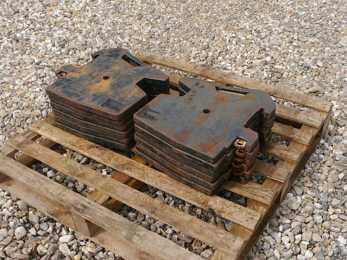 Used 45kg Front Weights