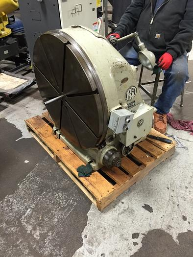 "Used PRATT & WHITNEY MODEL M-1835 30"" VERTICAL ROTARY TABLE"
