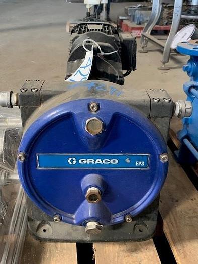 Used Graco EP3 Positive Displacement Hose Pump (Peristaltic Hose Pump)