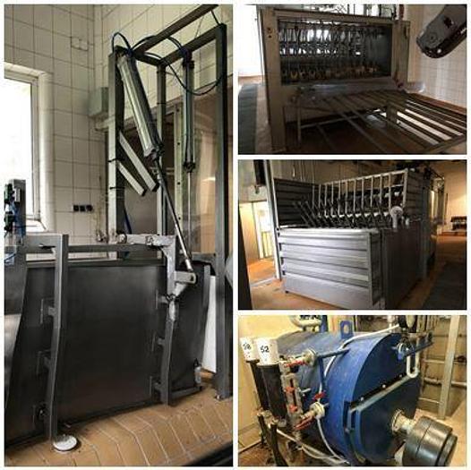 Refurbished Pig Abattoir, 60 Pigs Per Hour