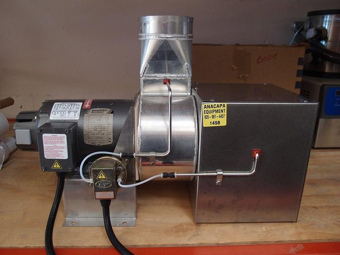 Used Baldor IDNM3534 Electric Motor 1/3 HP 1725RPM with Small Exhauster Fan (1498)