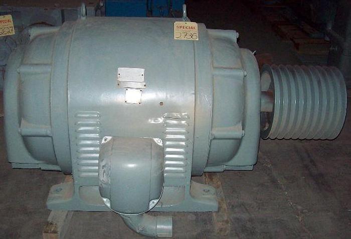Used U.S. 300 HP Industrial AC Motor