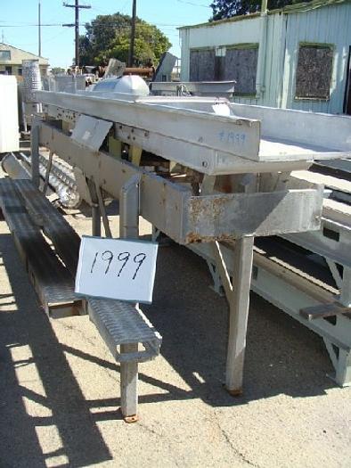 Allen 18'' Wide x 15' Long Vibratory Shaker/Conveyor