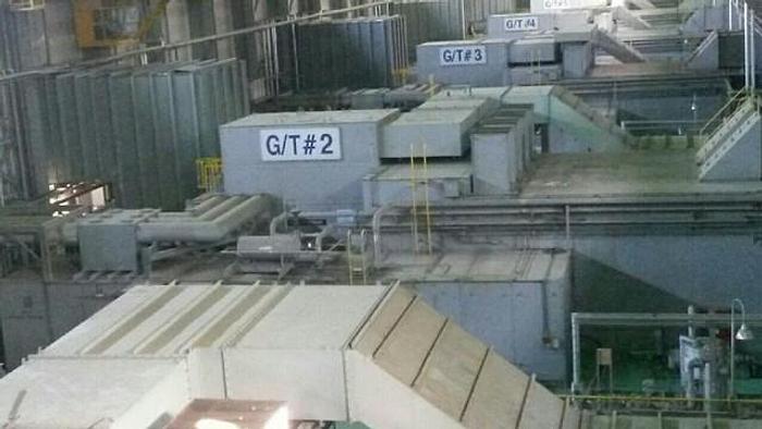 Used 400 MW WESTINGHOUSE/SIEMENS GAS POWERED TURBINE GENERATION SYSTEM