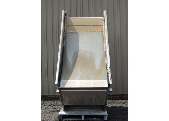 "USED SWECO SCREEN, 40"" WIDE, STAINLESS STEEL"