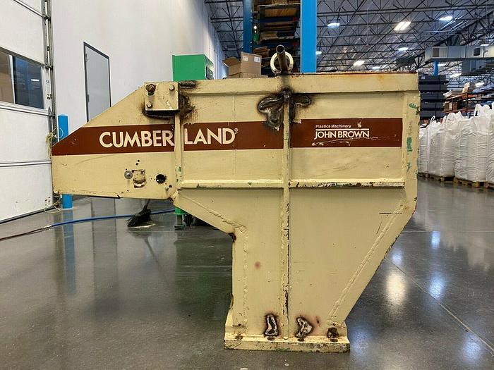 Used CUMBERLAND 15 X 24 GRANULATOR 50 HP