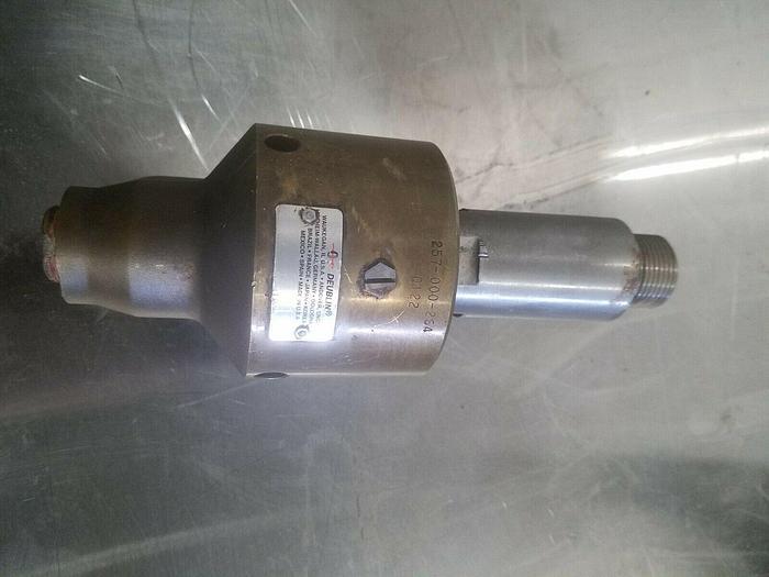Used Deublin 257 000 264 Rotary Union Pneumatic Rotating Air Valve