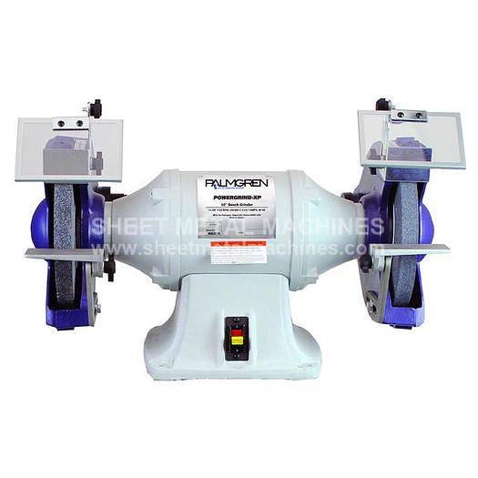 PALMGREN POWERGRIND-XP Bench Grinder with Dust Collection (1 PH) 9682075