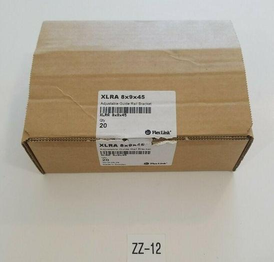 *NEW* Box of 20 FlexLink XLRA 8x9x45 Adjustable Guide Rail Bracket