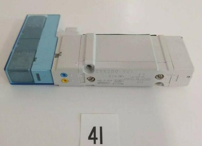 *NEW* SMC SY5200-5U1 PNEUMATIC SOLENOID CONTROL VALVE 24V + WARRANTY!