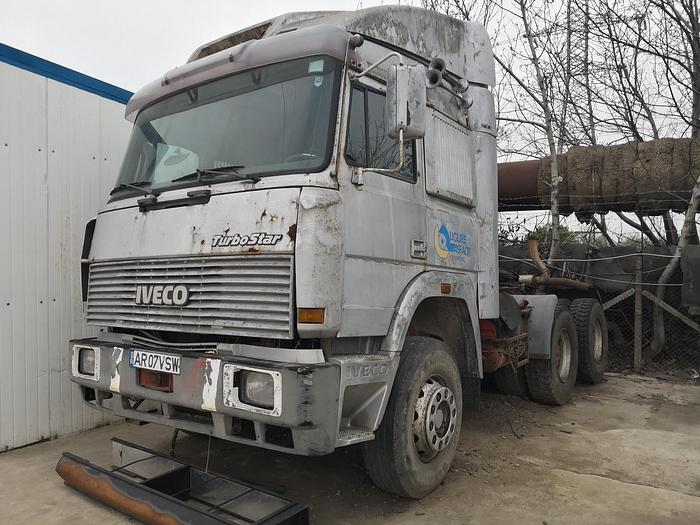 1990 Iveco Turbostar 190.36 6x4 full steel  SPAREPARTS