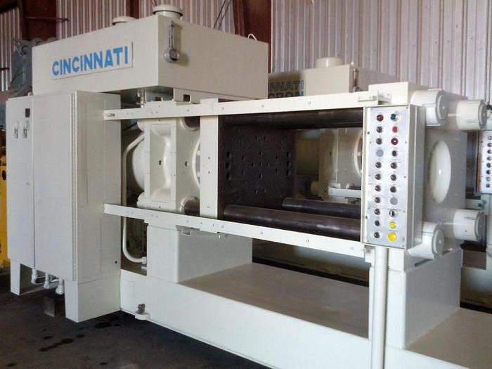 375 Ton Cincinnati Hydraulic Extrusion Press; 4-Column Type