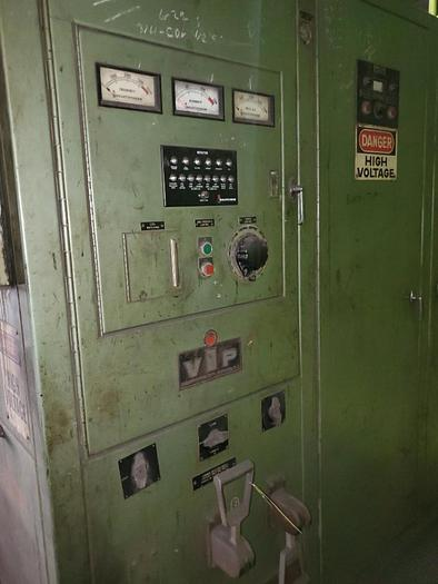 Used INDUCTOTHERM POWER SUPPLY 125KW