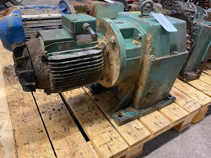 Used ASEA Electric motor with reducer