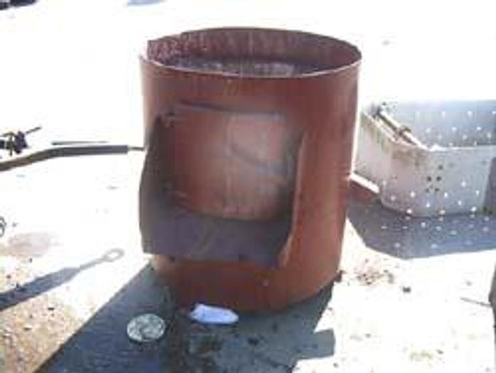 Używane Ocieraczka korundowa bębnowa