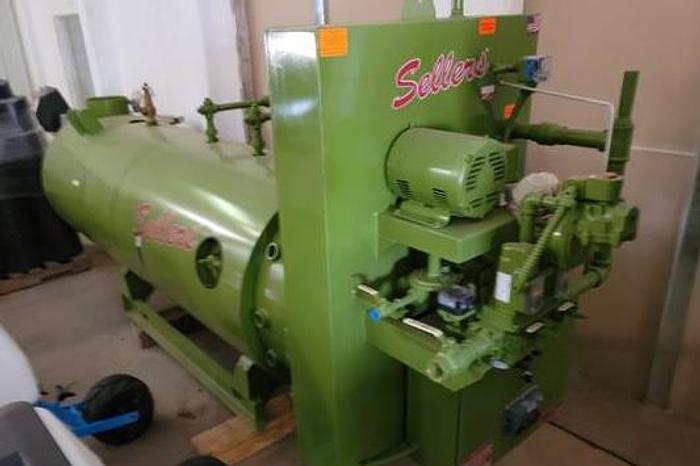 Sellers 50hp Boiler CNG