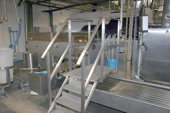 (4) Haas rolled wafer cone ovens