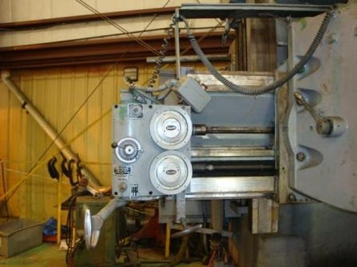 "1967 Bullard Dynatrol Surface Grinder | 46""x 40""UR, 3-Jaw,Turret, Ram/ Side Head"