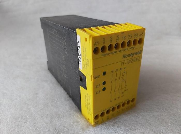 Gebraucht Zwei Kanal Notstop Modul, FF SRS5935G Honeywell,  gebraucht-Top