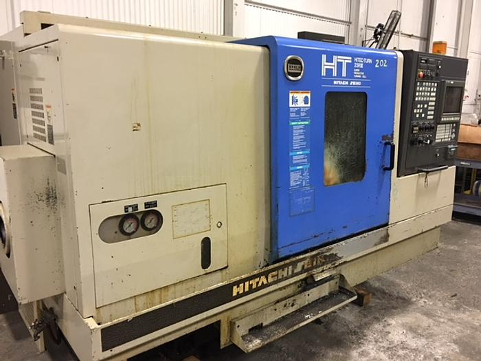 1999 Hitachi Seiki HT-23R III (CNC Lathe With Live Tooling)