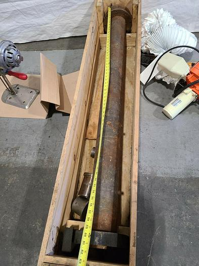 Used Extruder Barrel for Plastic Extruding Machine