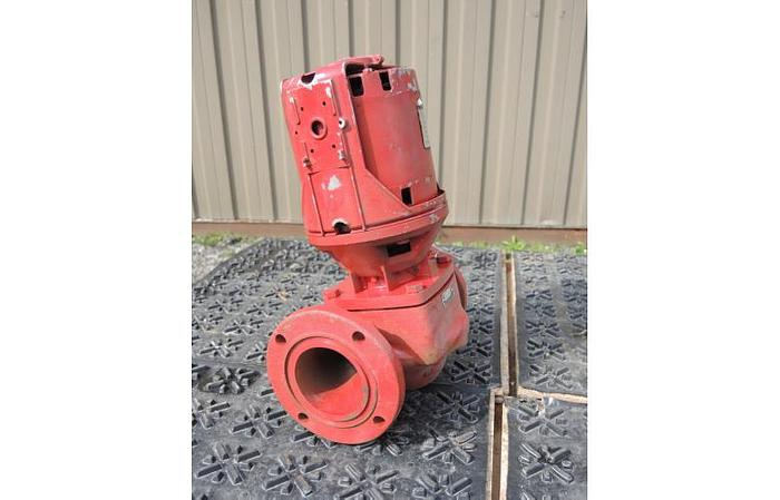 "USED CENTRIFUGAL PUMP, 3"" X 3"" INLET & OUTLET, CARBON STEEL"