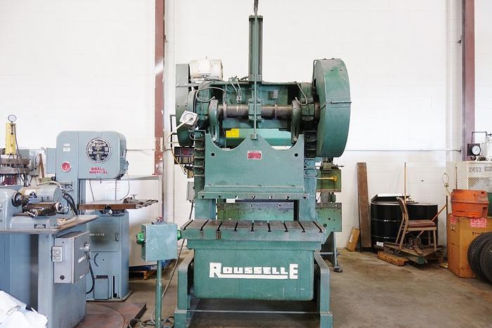 "Rousselle 60 Ton OBI Press 48"" Bed 6- B 48"