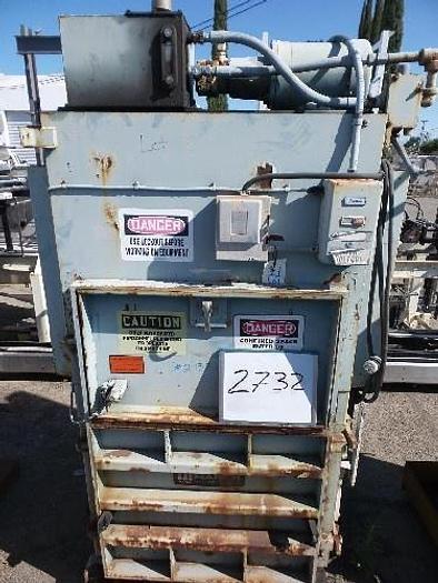 Used Maren Hydraulic Fiber Baler