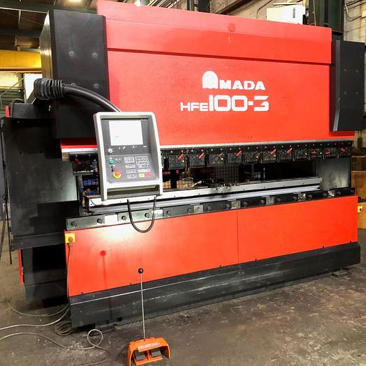 Used 2006 110 Ton Amada HFE-1003S CNC Press Brake